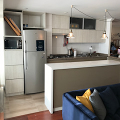 Dapur Modern Oleh Kaa Interior | Arquitectura de Interior | Santiago Modern