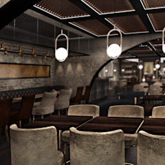 Old World Restaurant Moderne bars & clubs van Deev Design Modern Stenen
