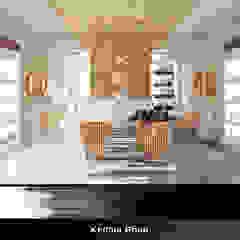 Kedma Shop Moderne kantoor- & winkelruimten van Deev Design Modern Hout Hout