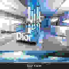 Moderne kantoor- & winkelruimten van Deev Design Modern Glas