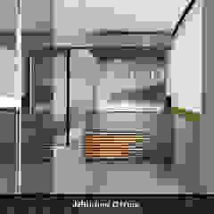 Moderne kantoor- & winkelruimten van Deev Design Modern Zilver / Goud