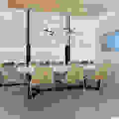 Moderne kantoor- & winkelruimten van Deev Design Modern Hout Hout