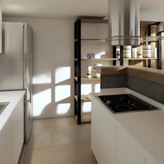 Reforma cocina comedor de laura zilinski arquitecta Industrial