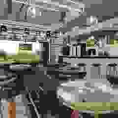 Musical Café Limeira Bares e clubes modernos por 88 Arquitetura Moderno