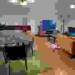 Sala Porto Salas de jantar ecléticas por No Place Like Home ® Eclético