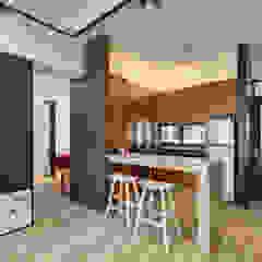 Asian style dining room by 邑舍室內裝修設計工程有限公司 Asian