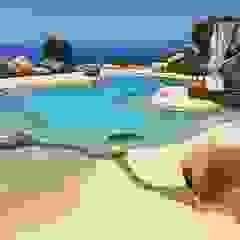 de ROCKS GARDENS DESIGN Mediterráneo Piedra