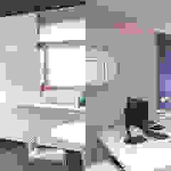 Aménagement d'un cabinet d'avocats Espaces de bureaux modernes par Trace & Associes architecture Moderne