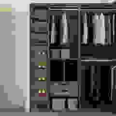YOUSUPOVA Closets de estilo ecléctico