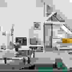 Rénovation partielle dans le IIe arrondissement de paris Salon moderne par Ocampo pro Moderne