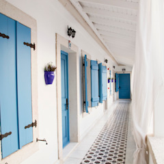 Hotel in Alacati by KAROİSTANBUL by KAROİSTANBUL Tropical Tiles