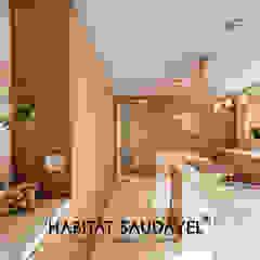 Casa da Fonte Cozinhas campestres por Habitat Saudável - consultoria, arquitetura e decoração Campestre