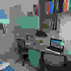 Arquitectura de interiores en vivienda en SMP de LS Arquitectura, diseño y acústica Moderno Derivados de madera Transparente