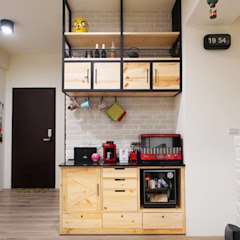 Industrial style kitchen by NO5WorkRoom Industrial