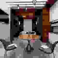 من Студия Aрхитектуры и Дизайна 'Aleksey Marinin' تبسيطي خشب Wood effect