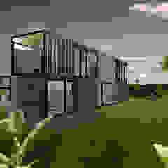 Dinges Design Single family home Wood Wood effect