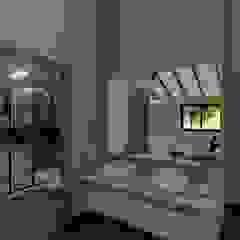 Casa SMC Baños minimalistas de Luis Barberis Arquitectos Minimalista
