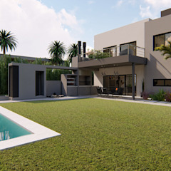 Luis Barberis Arquitectos บ้านเดี่ยว
