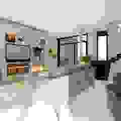 Luis Barberis Arquitectos ห้องนั่งเล่น