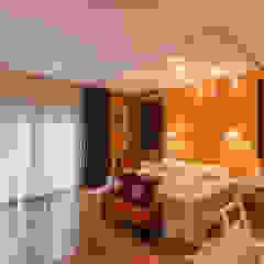 Casa CNSD Dormitorios eclécticos de Luis Barberis Arquitectos Ecléctico