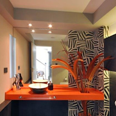 Casa RC Baños minimalistas de Luis Barberis Arquitectos Minimalista