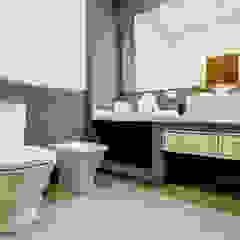 Casa RB Baños minimalistas de Luis Barberis Arquitectos Minimalista