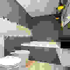 Casa CZM Baños minimalistas de Luis Barberis Arquitectos Minimalista