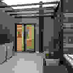 Minimalistyczny ogród zimowy od Luis Barberis Arquitectos Minimalistyczny