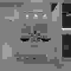 Casa MPSA Baños minimalistas de Luis Barberis Arquitectos Minimalista