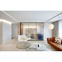 3연동 슬라이딩도어 디자인A3 by WITHJIS(위드지스) 모던 알루미늄 / 아연