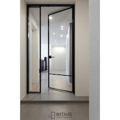 por WITHJIS(위드지스) Moderno Alumínio/Zinco