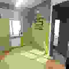 Proste wnętrza biura od 2arch architektura Nowoczesny Plastik