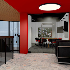 Modern offices & stores by BICHO arquitectura Modern Glass