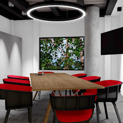 Modern offices & stores by BICHO arquitectura Modern Iron/Steel
