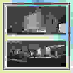 Centros Comerciais asiáticos por Gurooji Designs Asiático
