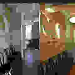 Projekt wnętrza przychodni weterynaryjnej od SZARA / studio Nowoczesny Drewno O efekcie drewna