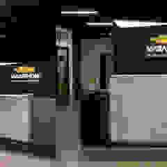 1500 m2 biurowca Marathon – projekt wnętrz siedziby firmy logistycznej od SZARA / studio Nowoczesny Beton