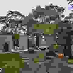 Jardines de estilo minimalista de Zendo 深度空間設計 Minimalista
