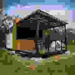 by Camacho Estudio de Arquitectura Country Engineered Wood Transparent