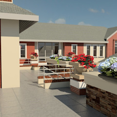 Family Home in Waterkloof, Pretoria. Modern houses by Nuclei Lifestyle Design Modern