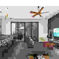 por Indigo Diseño y Arquitectura Tropical Betão