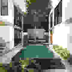 de Indigo Diseño y Arquitectura Tropical Concreto