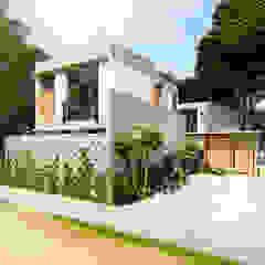 by Indigo Diseño y Arquitectura Tropical مضبوط کیا گیا کنکریٹ
