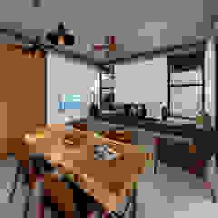 by Indigo Diseño y Arquitectura Tropical Concrete