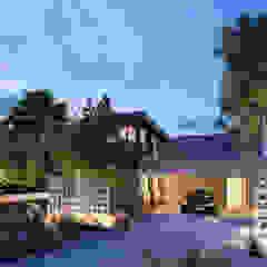 Casa Jardim - projeto residencial por BRUNA ZAGONEL ARQUITETURA Minimalista