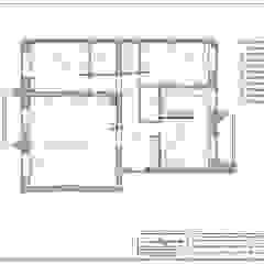 Квартира с нордическим характером. от Indigo дизайн Эклектичный