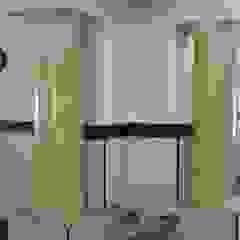 Serviços realizados pela Mix Company Corredores, halls e escadas clássicos por MIX COMPANY CONSTRUÇÕES E REFORMAS Clássico Mármore