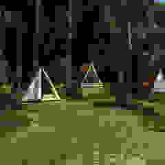 من Trazo Arquitectonico بلدي خشب Wood effect
