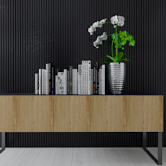 Projekt domu w Pleszewie Klasyczne domowe biuro i gabinet od Interior Koncept Projektowanie Wnętrz Klasyczny