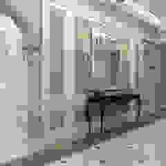 Bilgah Villa - Baku / Azerbaijan إنتقائي، أسلوب، الرواق، رواق، &، درج من Sia Moore Archıtecture Interıor Desıgn إنتقائي رخام